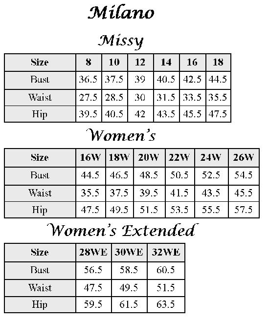 Milano-Size-Chart